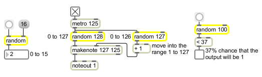 number generator 1 to 128