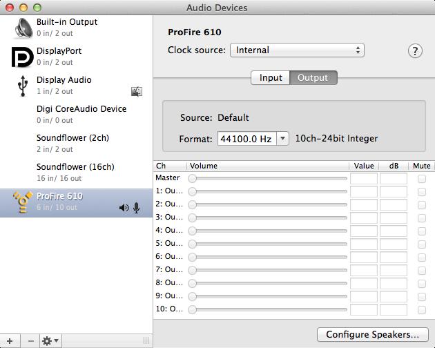 Audio Input and Output - Max Documentation v7 3 5