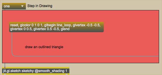 Tutorial 40: Drawing in OpenGL using jit gl sketch - Max